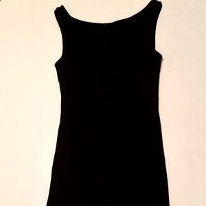 Hugo Buscati Sleevelss Little Black Dress-Size 12